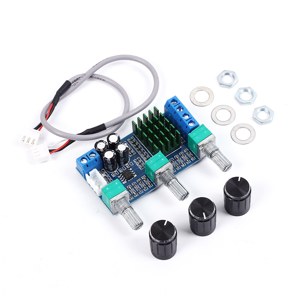 XH-M567 TPA3116D2 Digital Power Amplifier Board DIY Audio Amplifier Module for Home Theater Phone Computer Dual Channel 80W