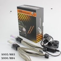 OCSION R4 HB3 9005 5000k Headlight Bulbs 30w 3600lm Fog Lamp Yellow 3000k 4300k 6000k 8000k