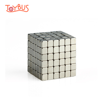 ToyBus 216pcs Magnetic Cube Magic Puzzle Toys Relieve Anxiety Autism ADHD For Children Adults Square Magnetic