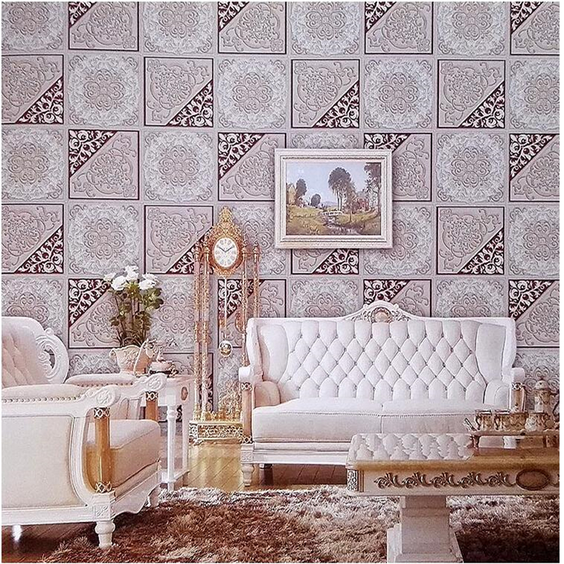 Beibehang papel de parede Chinese flowers and birds pattern wallpaper bedroom living room warm TV background wallpaper pvc