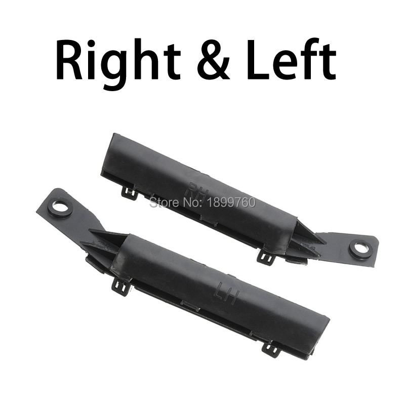 One Pair Bumper Bracket Front Left And Right Black For Nissan Tiida / Versa 2007-2012