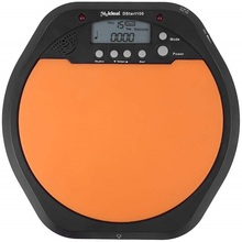 Digital Electronic Dumb Drum Pad Metronome Practice Drum for Jazz,2 in 1