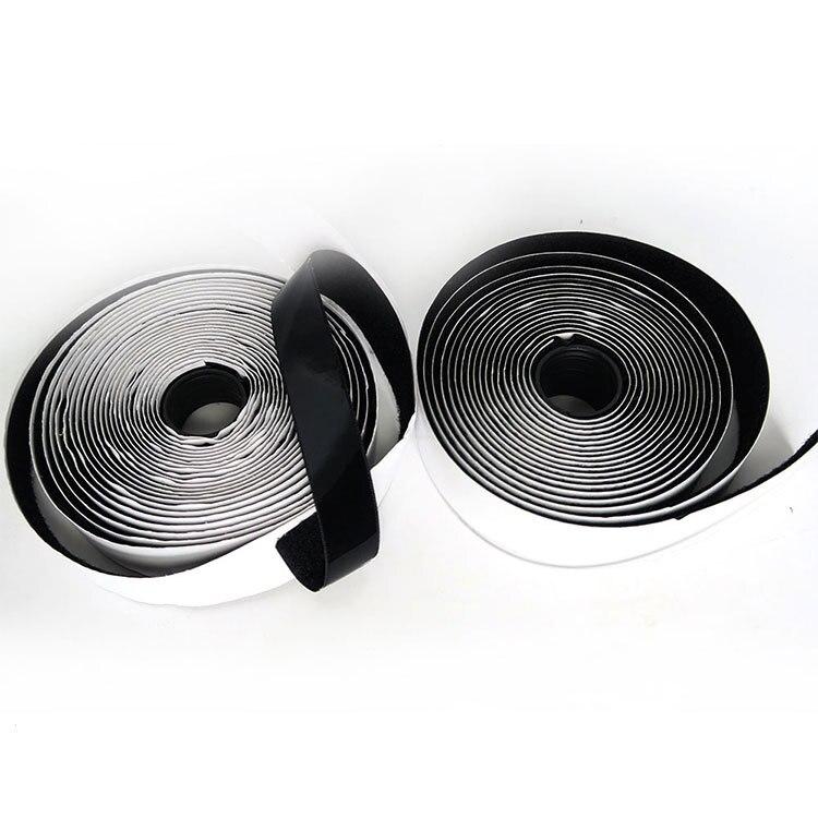 Hook /& Loop Self Adhesive Sticky Tape Fastener 20mm Long Roll 5M