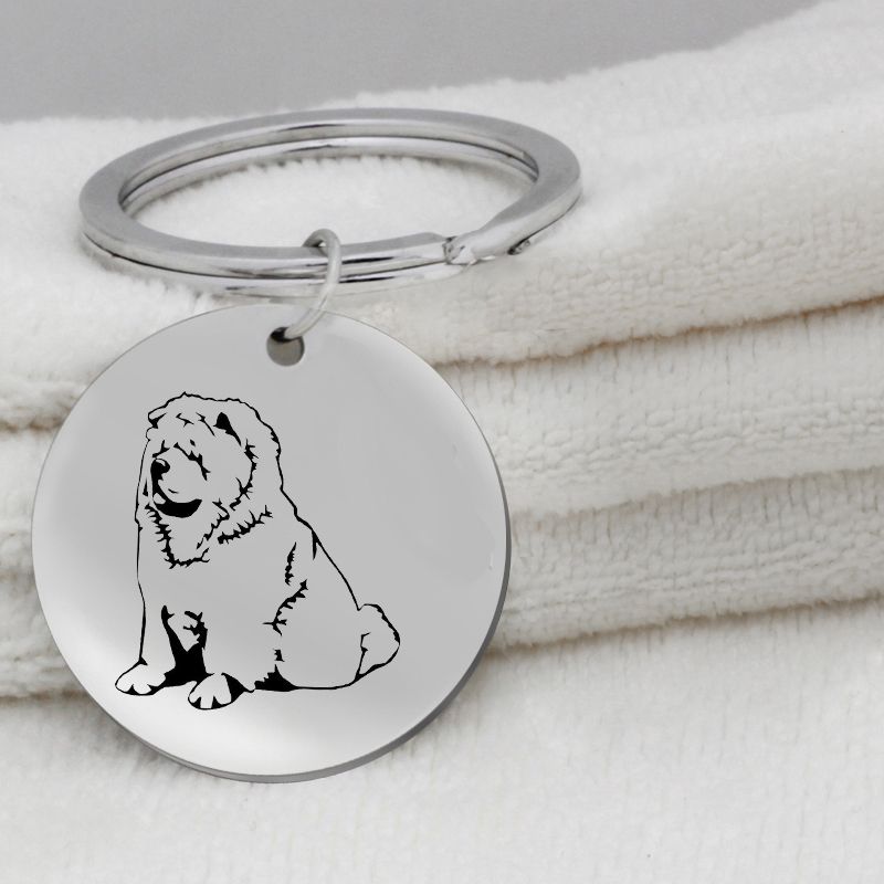 Pomeranian Chow Chow dog Paw prints on heart pendant bracelet necklace