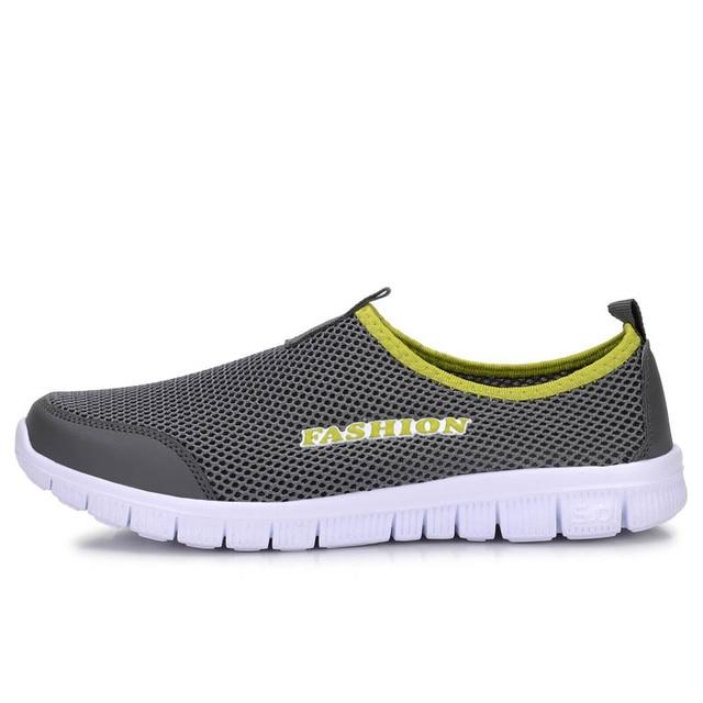 2017 Men Shoes Summer Shoes Light Comfortable Men Casual Shoes zapatos hombre Mesh Breathable Loafers Footwear Plus Size 38-46 3