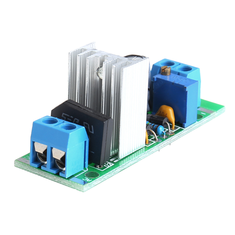Suite LM317 Module Adjustable Power Supply Regulated Plate Rectifier AC/DC Input-M35