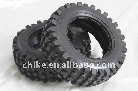 Free Shipping 1/5 scale Baja 5T Desert Tires - 2pcs/pair - Front for hpi km rv baja 5t