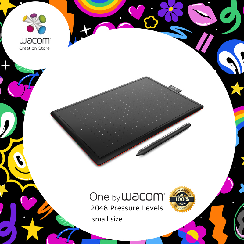 Uno por Wacom CTL-472 tableta Digital dibujo gráfico tabletas 2048 niveles de presión + paquetes de regalo + 1 año de garantía