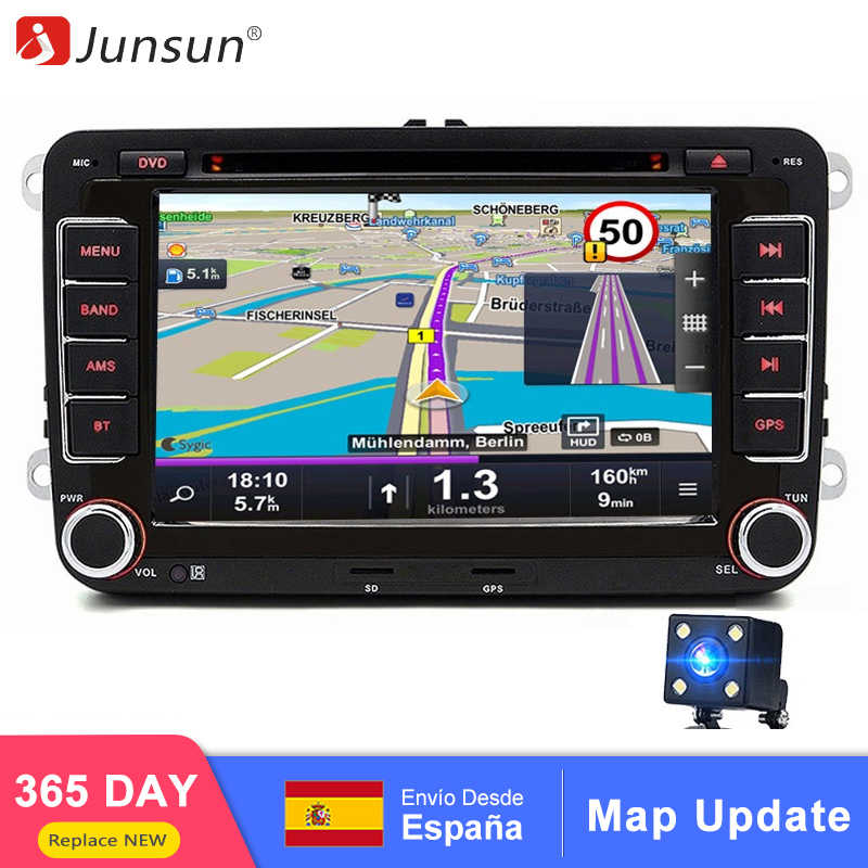 Isudar Car Multimedia player 2 Din Car DVD For VW/Volkswagen/Golf