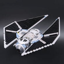 New 543Pcs Star War Seiers The TIE Striker Building Blocks Bricks Toys Compatible with Gift drop shipping