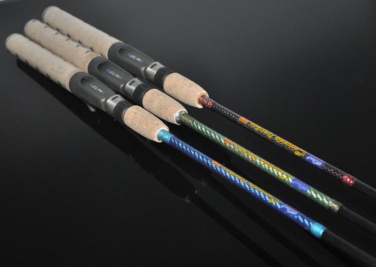 New Casting Lure Rod 1.98m Power M Section 2 Lure Fishing Rod Vara De Pesca