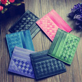 new real leather jackets lambskin hand-woven bag change bag unisex bank card business card holder