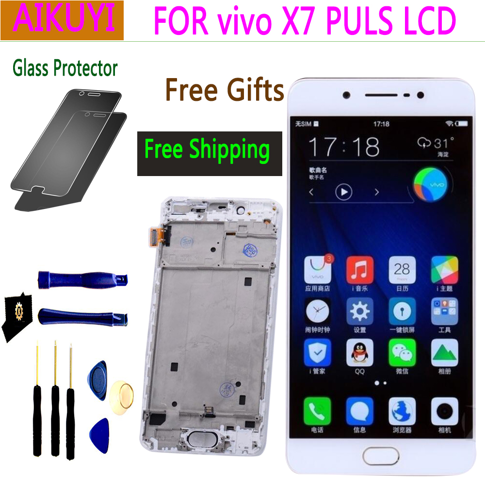 5.7 NEW Original screen for Vivo X7 PULS LCD Full Touch Display touch X7PULS with frame