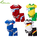 Baby Unisex Casual Clothing Set Rompers + Pants Toddler Cotton Clothing Baby Romper Summe Kids Clothing Sets Drop Free Shipping