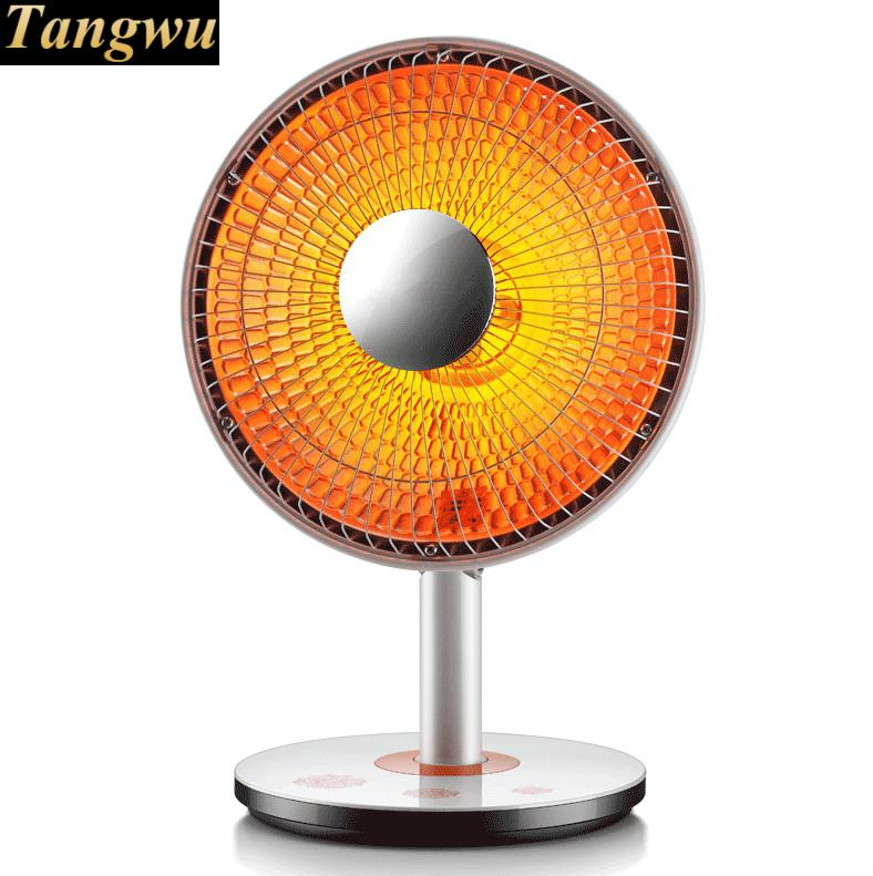 Small solar heater household mini electric heaters KaoHuoLu bathroom office electrical fan heater heater electric radiator household mini heaters in the warm bath