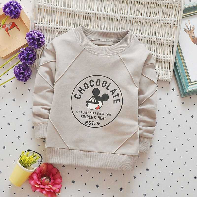 Casual Spring Autumn Boys Girls Baby Kids Children Roupas Infants,Babi Cotton Cartoon Long Sleeve Tops T-shirt C0100