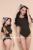 Ventas limitadas de 2017 Primavera Nueva Sexy Modal Sólido Delgado Elegante Color de La Vendimia Inglaterra Estilo Elástico Grande Siamese Tops T Shirt mujeres