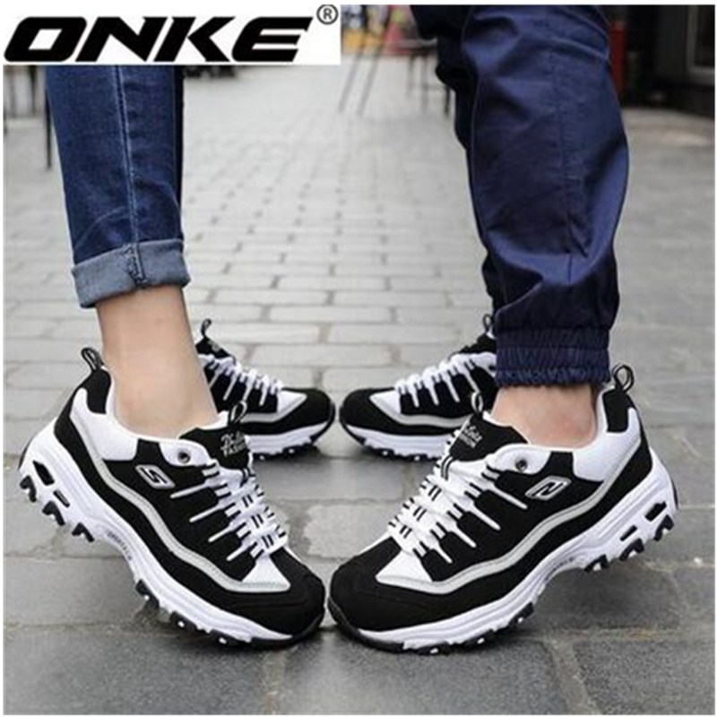 ФОТО ONKE zapatillas deporte sneakers women ladies running shoes sapatos adult chaussures de course zapatillas running hombre