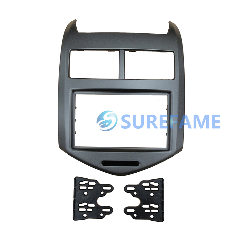 Double Din Facia for Chevrolet Aveo Sonic Holden TL Barina 2011 Radio DVD Stereo CD Panel