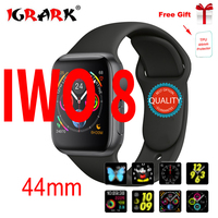 AGRARK Bluetooth Smart Watch IWO 8 1:1 SmartWatch 44mm Case for Apple iOS Android Heart Rate ECG Pedometer IWO 6 Upgrade