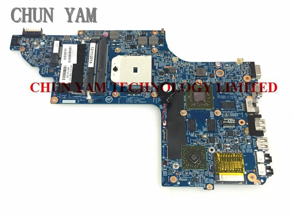 ФОТО 682182-501 FOR HP DV6 DV6-7000 series Laptop Motherboard 682182-001 7670/2G Mainboard 90Days Warranty