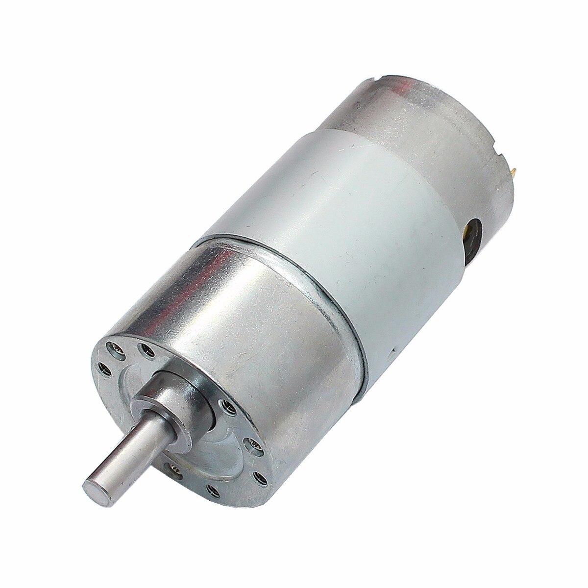 DC 12V 180RPM Ausgerichtet Motor Hohe Drehmoment Getriebe Motor DC Motor