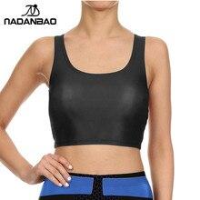 NADANBAO NEW ARRIVAL Crop Top Black Women Camis tank tops Colorful sleeveless Tee Vest