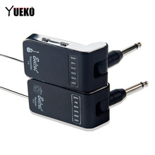 YUEKO T3/R3 Wireless Transmitter and Receiver Digital Transmission System Based On UHF aroma aru 03s uhf wireless digital audio transmission transmitter receiver system for guitar bass