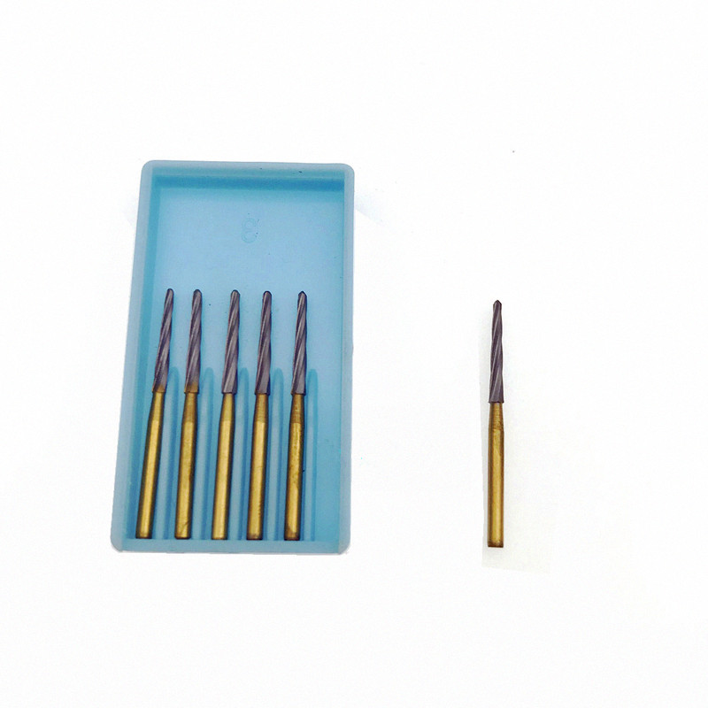 6Pcs Dental Drills Zekrya Tooth Extraction Burs Dental Bur Dental Endo-z