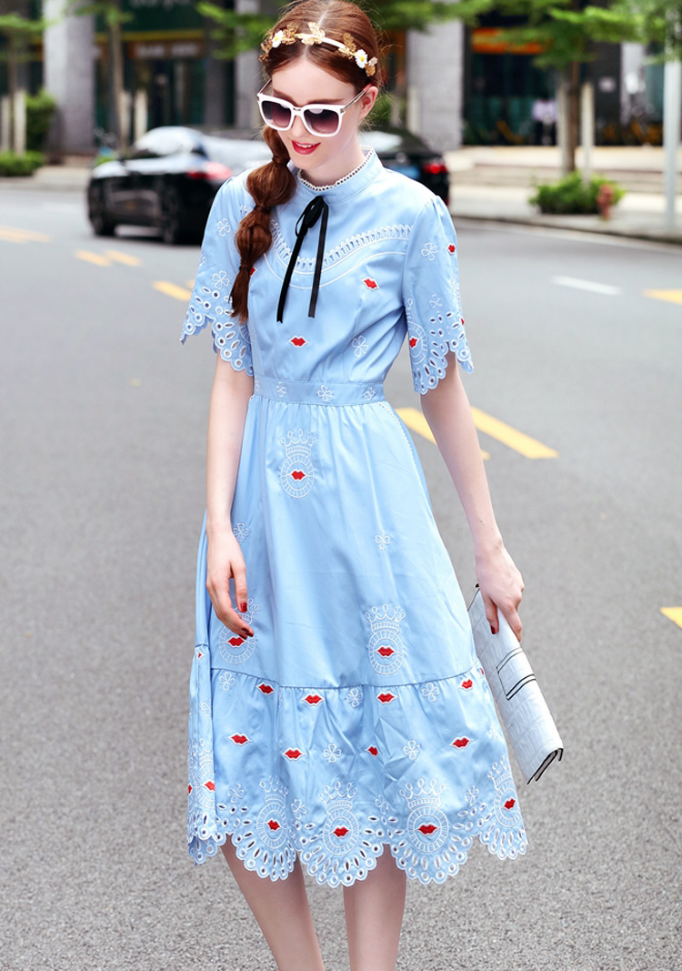 Embroidery Last discount Dress 3