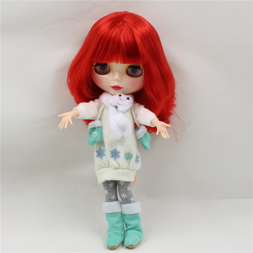 Neo Blythe Doll Winter Outfit Set 5