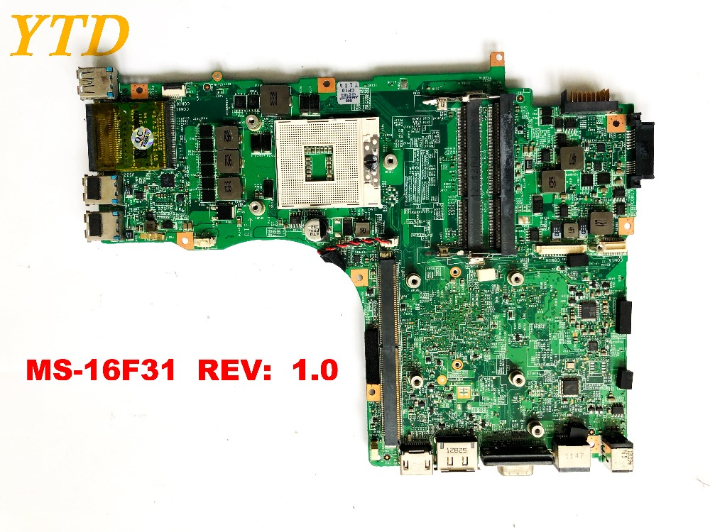 Original for MSI GT60 motherboard MS 16F31 REV 1.0 tested good free shipping