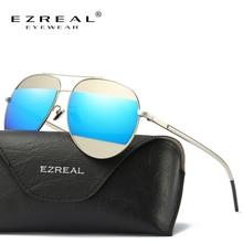 Ezreal модные женские туфли кошачий глаз Солнцезащитные очки для женщин классический Брендовая Дизайнерская обувь HD поляризованные Солнцезащитные очки для женщин зеркальное покрытие индикаторной Панель объектив #2607