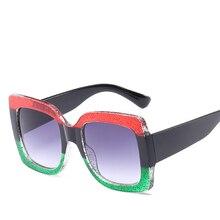 ФОТО brand sunglasses fashion sunglasses women luxury big square sun glasses 2017 brand sun glasses lentes de sol mujer