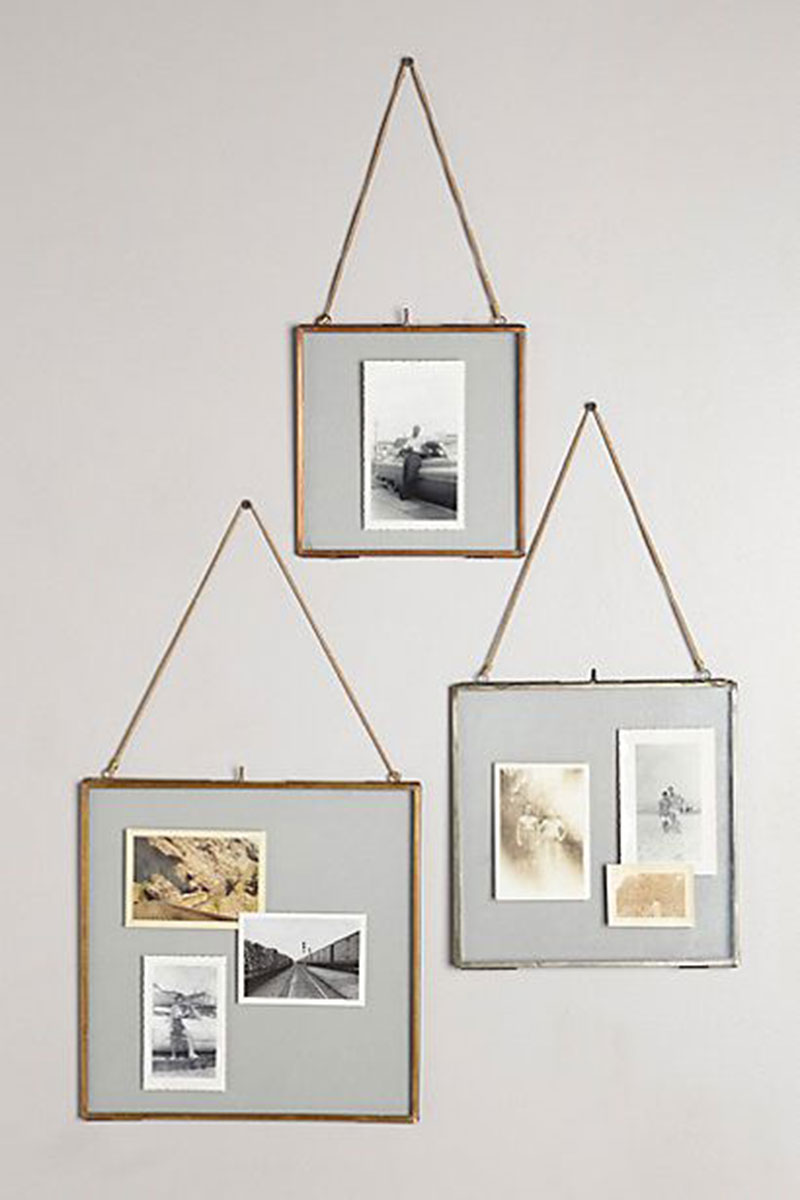 Wall Photo Frame Home Decoration Picture Frames Creative Simple Metal Shelf Exhibition European Style Decor Gift In From Garden On