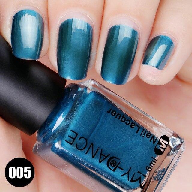 Tienda Online 2017 Nuevo 5 colores metálicos espejo Esmaltes de uñas ...