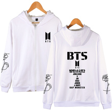 2018 BTS Oversized Hoodies With Zipper [All Members]