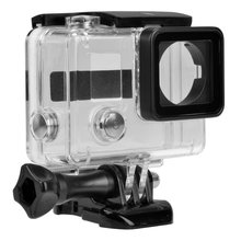 Replacement Waterproof Protective Skeleton Housing Case with Bracket for GoPro Hero 3+ Outside Sport Camera (ST-168)
