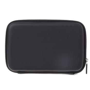 7 Inch Hard Shell Carry Bag Zipper Pouch Case For Garmin Nuvi TomTom Sat Navigation GPS carprie replacement bracket cradle mount for garmin nuvi gps 50 50lm black jul 20