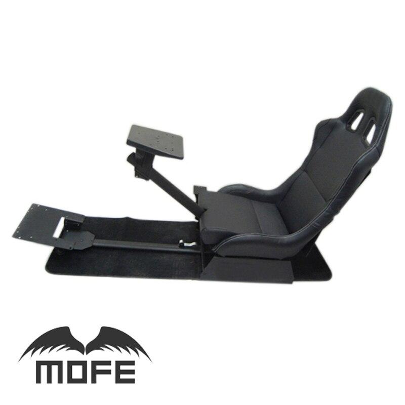Mofe Con Il Supporto del Volante Pedale del Cambio e Del Cambio Del Supporto Pieghevole Simulatore di Cabina di Guida Da Corsa del Sedile per Logitech G27 G29
