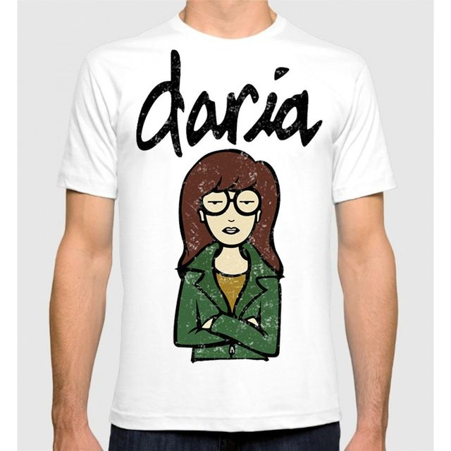 49f0486caf98 Daria MTV T-shirt Men's Women's Cotton Tee Cartoon t shirt men Unisex New  Fashion tshirt free shipping top ajax funny