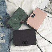 Women Shoulder Bag luxury handbags women bags designer Version Luxury Wild Girls Small Square Messenger Bolsa Feminina #YL10