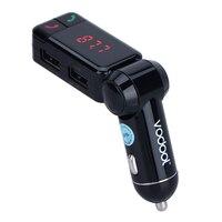 Vodool BC06 Digital Wireless Bluetooth Fm Transmitter Bluetooth Car Charger Handsfree Calling Dual USB Charging Port