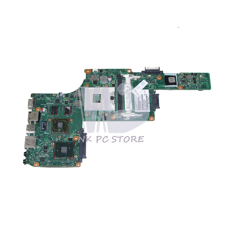 NOKOTION V000245050 Motherboard For Toshiba Satellite L630 Notebook PC Main Board HM55 DDR3 HD5430 Discrete Graphics nokotion laptop motherboard for dell vostro 3500 cn 0w79x4 0w79x4 w79x4 main board hm57 ddr3 geforce gt310m discrete graphics