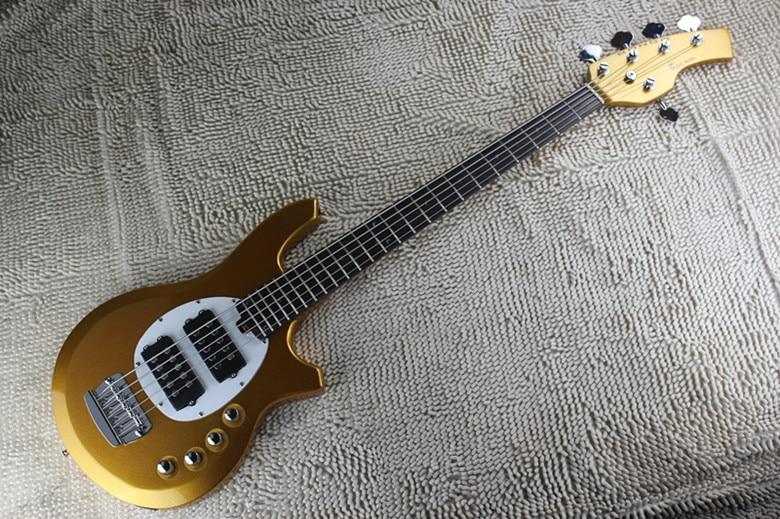 custom shop music man bass bongo 5 strings electric bass guitar musicman with active pickups 9v. Black Bedroom Furniture Sets. Home Design Ideas