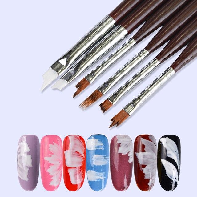 Aliexpress Buy 1pcs Nail Art Brush Painting Drawing Polish