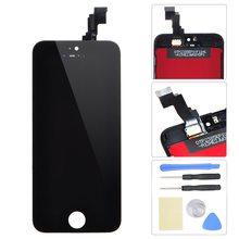 Top Quality White&Black LCD For iPhone 5C LCD Display+Touch Screen Digitizer Assembly For Iphone Parts+Tools, Free Shipping