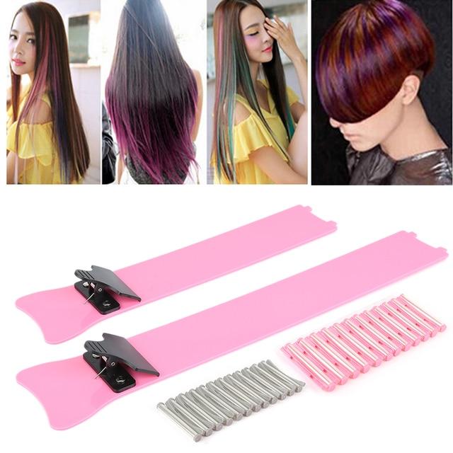Hot selling A box salon Hair dye board bleach tint plate perm ...