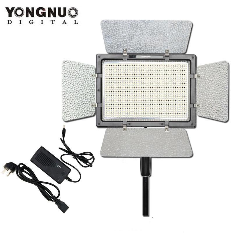 YONGNUO YN900 with AC Power Adapter,YN-900 High CRI 95 5500K and 3200K-5500K LED Video Light Panel
