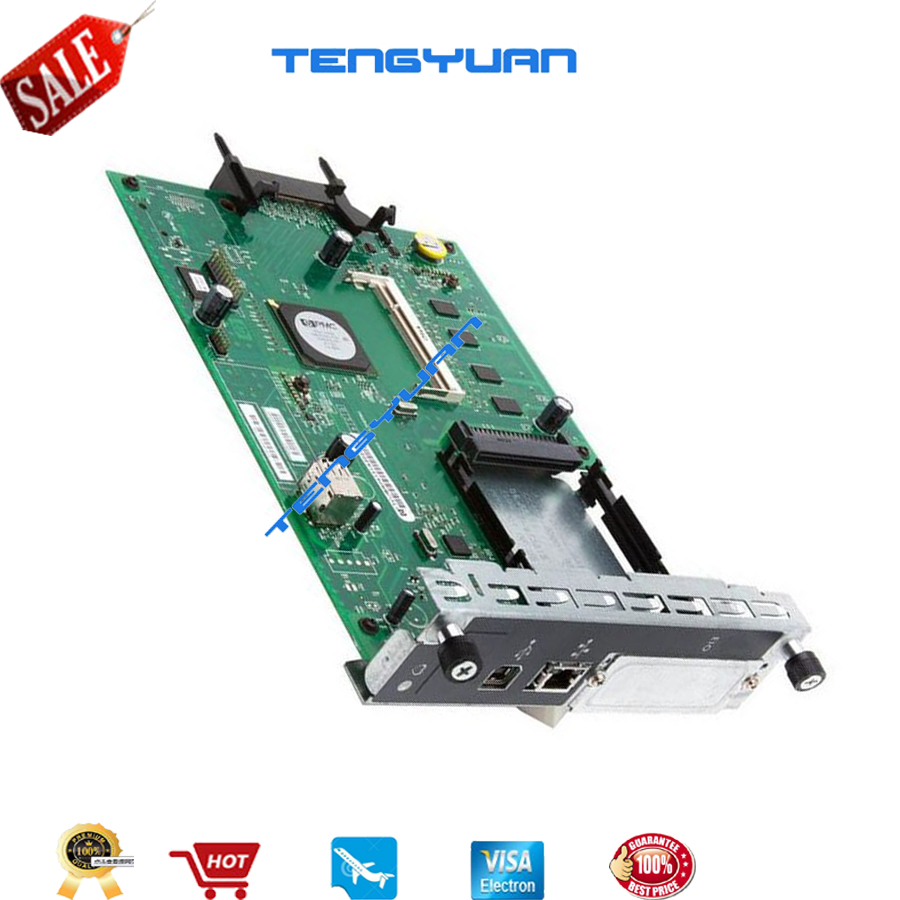 Free shipping 100% test for HP3525 CP3525N Formatter Logic Board CE859-69002 printer parts on sale free shipping new original formatter board jc9202529a for samsung clp 4195 logic board motherboard printer parts on sale